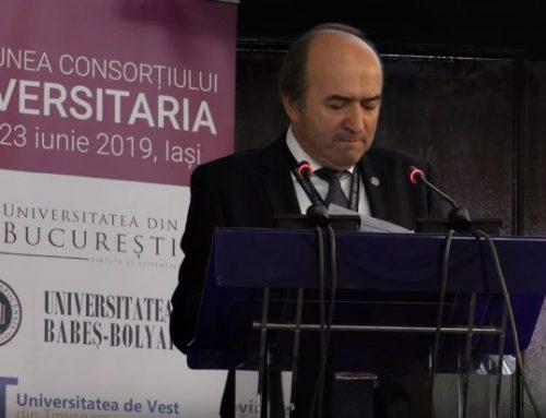 Liga Studenților denunță organizarea în secret a întâlnirii Consorțiului Universitaria la Iași. Tudorel Toader a făcut din nou apel la Poliție și pază