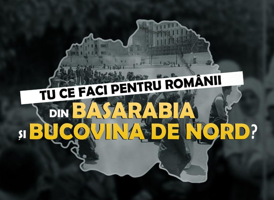 Tu ce faci pentru românii din Basarabia și Bucovina de Nord? Campanie #ligastudentilor și #SSTI