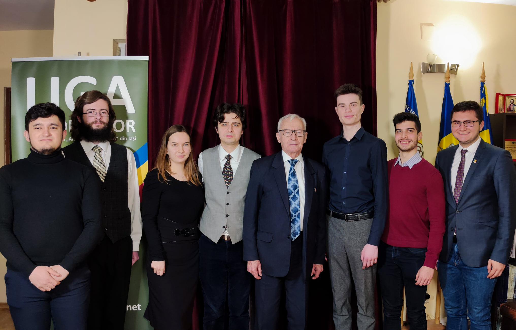 Studenții ieșeni îi iau apărarea lui Octav Bjoza: PNL înceacă să impună un monopol asupra memoriei rezistenței anticomuniste